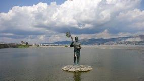 Monument zu Evgeny Mironov stockfotos