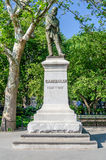 Monument zu Garibaldi, New York Stockfotos