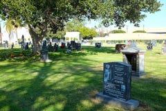 Monument zu Jack Norworth, Melrose Abbey Memorial Park, Anaheim lizenzfreies stockfoto