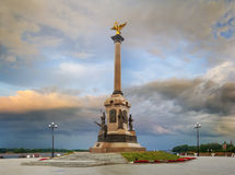 Monument zu 1000 Jahren von Yaroslavl yaroslavl Russland stockfoto