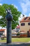 Monument zu Jahrestag 1000 von Litauen, Klaipeda, Litauen Stockbilder
