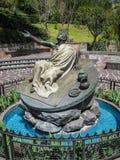 Monument zu Juan Diego auf dem Hügel von Tepeyac, Mexiko City, Mexiko Lizenzfreies Stockbild