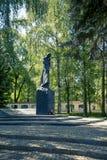 Monument zu Ks Jerzy Popieluszko in Bialystok lizenzfreies stockfoto
