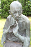 Monument zu Mahatma Gandhi Stockbild