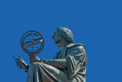 Monument zu Nicolas Copernicus Stockfotos