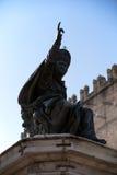 Monument zu Papst Paolo V Borghesio Stockfoto
