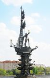 Monument zu Peter der Große Lizenzfreies Stockbild