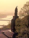 Monument zu Vladimir der Baptist Stockfotografie