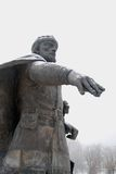Monument zu Yuri Dolgorukiy in Dmitrov Cremlin Stockfotografie