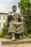 Monument zu Yuri Dolgoruky lizenzfreie stockfotos