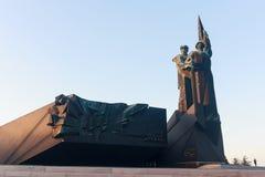 Monument zum Befreier und Donbass im zweiten Weltkrieg d stockfoto