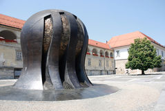 Monument zum die Befreiungs-Kampf der Leute Lizenzfreie Stockfotografie