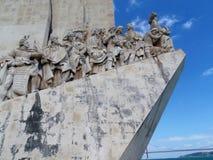 Monument zum Entdeckungen Padrão DOS Descobrimentos, Lissabon, Portugal Stockfotos
