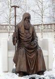 Monument zum ersten russischen orthodoxen Patriarch Job Lizenzfreies Stockbild
