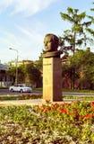 Monument zum Fehlschlag von Yuri Gagarin lizenzfreies stockbild
