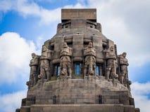 Monument zum Kampf der Nationen, Leipzig Stockbilder