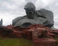 Monument zum Soldaten stockfoto