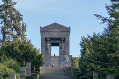 Monument zum unbekannten Helden stockbild