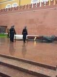 Monument zum unbekannten Soldaten in Moskau Lizenzfreie Stockfotos