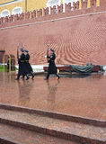 Monument zum unbekannten Soldaten in Moskau Lizenzfreie Stockbilder