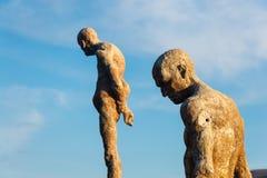 Monument zum vergessenen Bürgerkrieg und zur Diktatur lizenzfreie stockfotografie