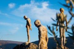 Monument zum vergessenen Bürgerkrieg und zur Diktatur stockfoto