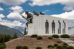 Monument zum Widerstand Griechenland Lizenzfreie Stockfotografie