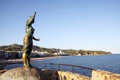 Monument zur Frau des Seemanns Stockfoto