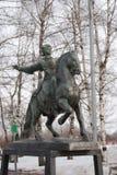 Monument zur Kaiserin Elizabeth in Kolomenskoye-Park Lizenzfreie Stockfotografie