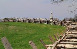 Monument zur 130. Pennsylvania-Infanterie stockbild