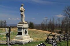 Monument zur 130. Pennsylvania-Infanterie stockfotografie