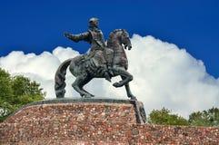 Monument zur russischen Kaiserin Elizabeth Petrovna Stadt Baltiys Lizenzfreies Stockbild