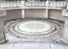 Monument Zusatz-Morts in Nîmes, Französische Republik stockbilder