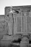 Monument Zusatz-Morts, Versaille Stockbild