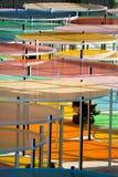 Monumenta 2012 Funktionen Daniel Burren Lizenzfreie Stockfotografie