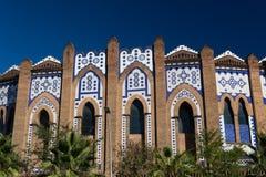 Monumentaal La van de arena van Barcelona Royalty-vrije Stock Foto's