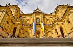 Monumental baroque basilica in Wambierzyce, Poland Stock Image