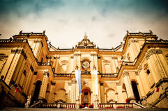 Monumental baroque basilica Stock Images