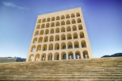 Monumental building in Rome. In Italy Stock Photography