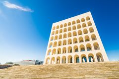 Monumental building in Rome. In Italy Royalty Free Stock Photos