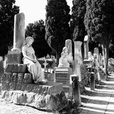 Monumental cemetery Stock Images