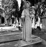 Monumental cemetery Stock Photo