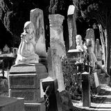 Monumental cemetery Stock Photography
