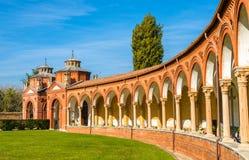 The Monumental Cemetery of Certosa - Ferrara Stock Photography