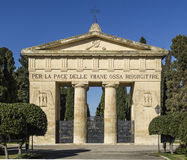 Monumental cemetery of lecce Royalty Free Stock Photo