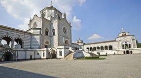 Monumental Cemetery in Milan Stock Photo