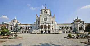 Monumental Cemetery in Milan Royalty Free Stock Photo