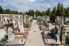 Monumental Cemetery Royalty Free Stock Photos