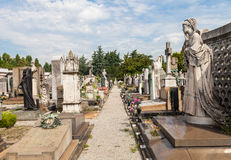 Monumental Cemetery Royalty Free Stock Photo