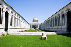 Monumental Cemetery of Pisa Stock Photos
